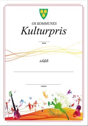 Ungdommens kulturpris Os kommune 2017