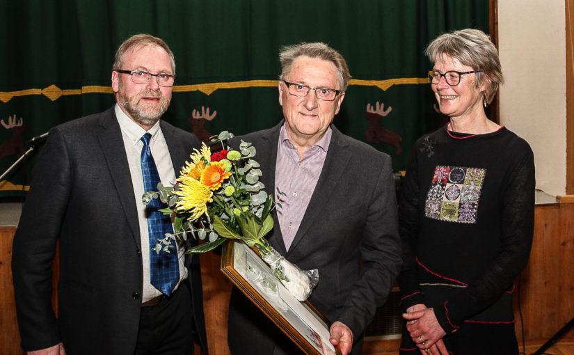 Petter Aamo tildelt Os kommunes kulturpris