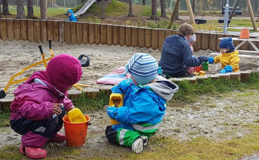 Barnas velferd under øvelsen Trident Juncture