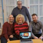 Arbeidsgruppa for den nye chatboten i Os kommune