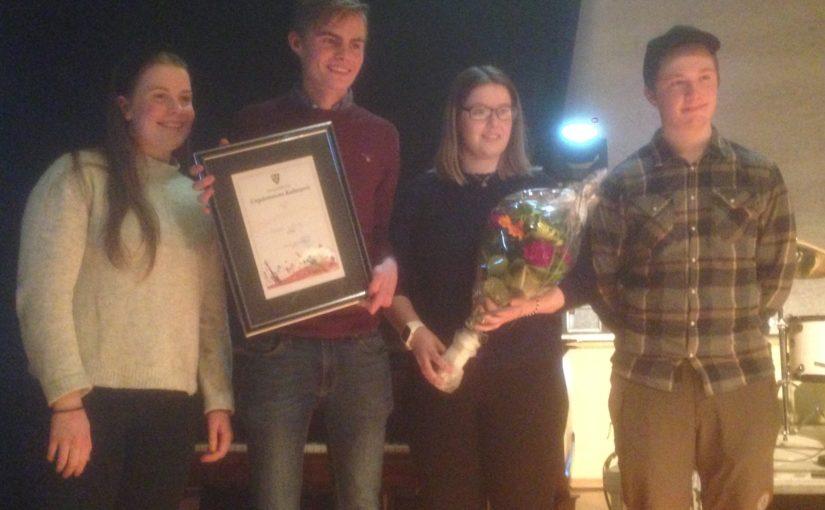 Frist for forslag til kandidater til Ungdommens kulturpris 2021 nå i helga