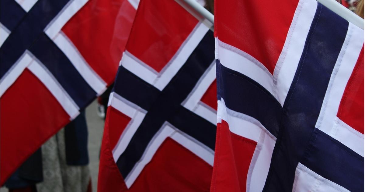 Bilde av flaggborg