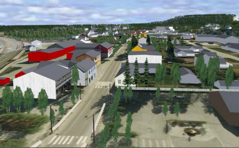 Områdereguleringsplan for Stasjonsbyen Os er klar