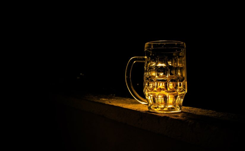 Nasjonalt forbud mot servering av alkohol.