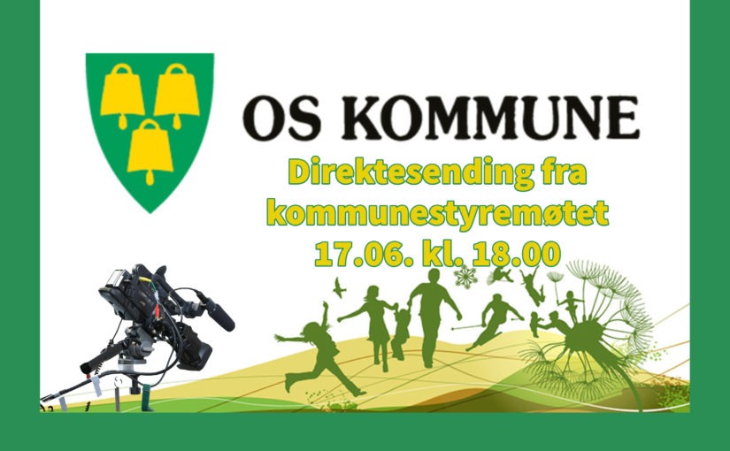 Direktesending fra kommunestyremøtet den 17.6. , kl. 18.00