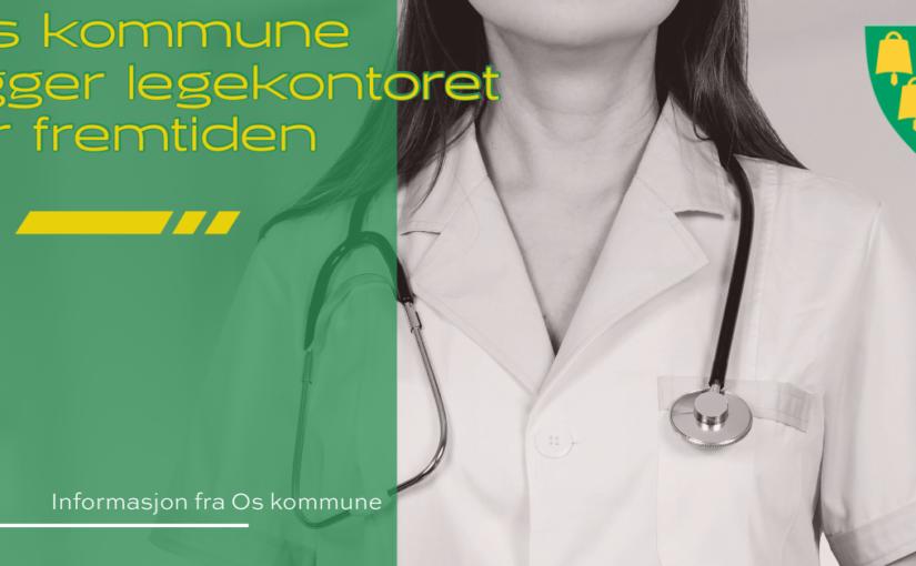 Os kommune rigger legekontoret for fremtiden